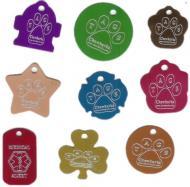 Гравировка на брелках жетонах медальонах