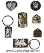 Фотогравировка на медальонах и жетонах