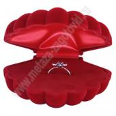 Подарочная коробочка - ракушка для ювелирных украшений