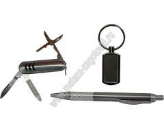 Бизнес - сувенир, подарочный набор с тремя предметами