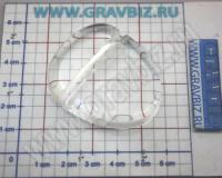 Подставка прозрачная акриловая фотокристалла