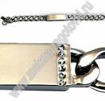 браслеты серебряные браслеты мужские с пластиной для гравировки