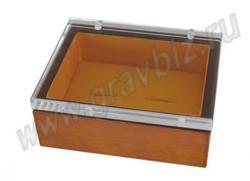 Шкатулка для запонок, деревянная коробочка, подарочная упаковка запонок,